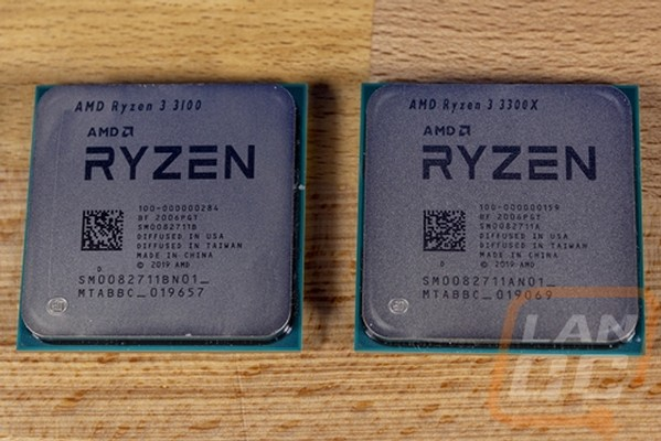 AMD Ryzen 3 3100 and 3300X