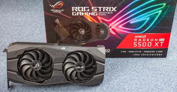 Asus Radeon RX 5500 XT STRIX 8GB