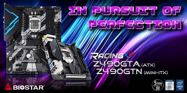 Biostar Racing Z490GTA und Biostar Racing Z490GTN