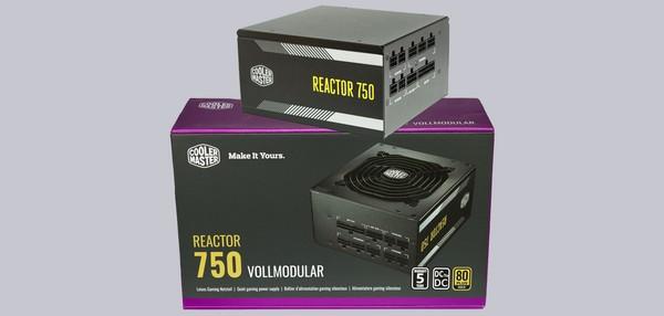 Cooler Master Reactor Gold 750W PC Netzteil