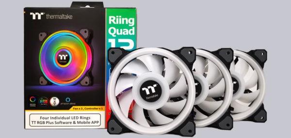 Thermaltake Riing Quad 12 Fan