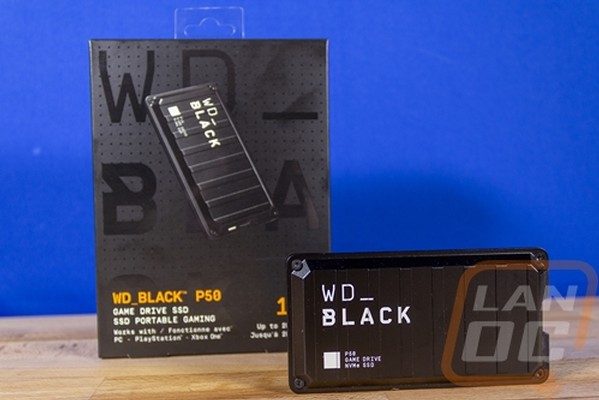 Western Digital WDBlack P50 Game Drive SSD 1TB