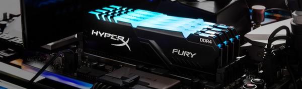 HyperX Fury RGB 64GB DDR4-2666 CL15 RAM