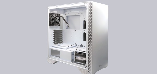 Thermaltake S300 TG Snow Edition PC Gehäuse