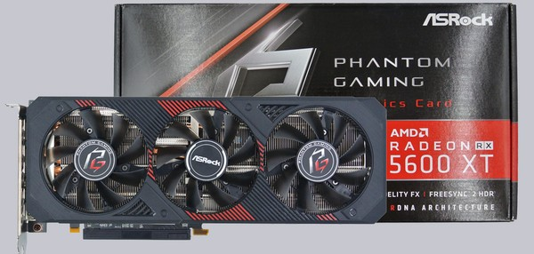 ASRock RX 5600 XT Phantom Gaming D3 6G OC