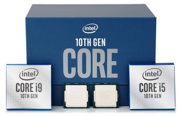 Intel Core i9-10900K and Intel Core i5-10600K