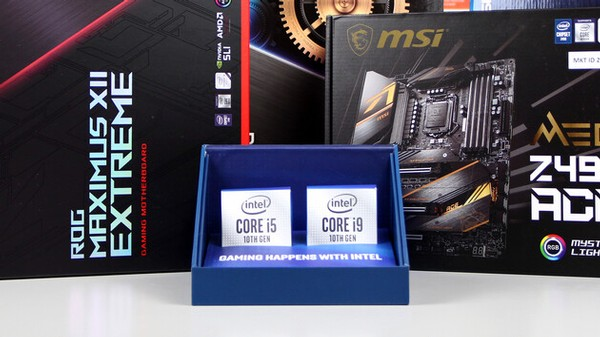 Intel Core i9-10900K und Intel Core i5-10600K