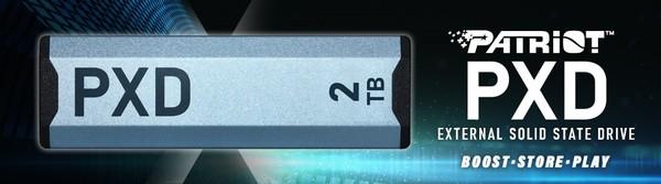 Patriot PXD M2 PCIe USB 32 Typ-C SSD