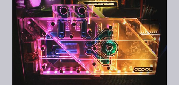 Alphacool Eisblock Aurora Plexi GPX