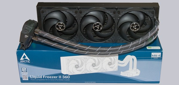 Arctic Liquid Freezer II 360 Rev 2