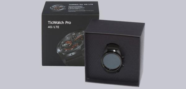 Mobvoi TicWatch Pro Mobilfunk Smartwatch