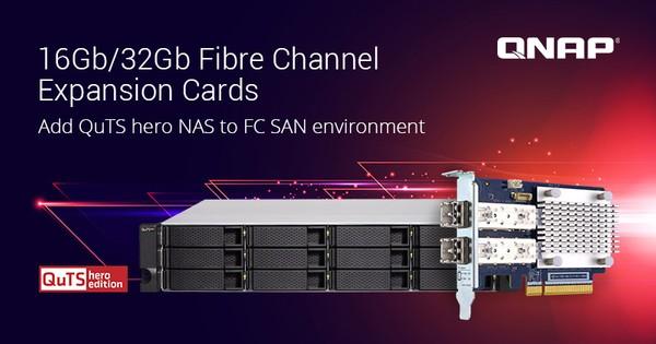 QNAP Dual-Port 16Gb32Gb Fibre Channel Erweiterungskarten
