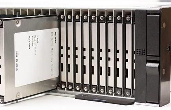Kioxia Edsff-E3S NVMe SSD Formfaktor