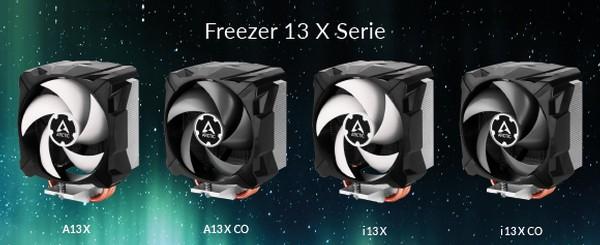Arctic Freezer A13 X CO Freezer i13 X CO Freezer A13 X Freezer i13 X