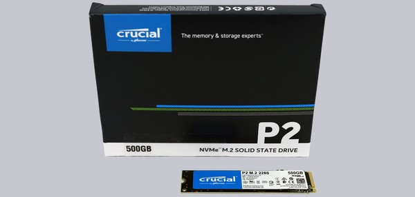 Crucial P2 M2 NVMe SSD