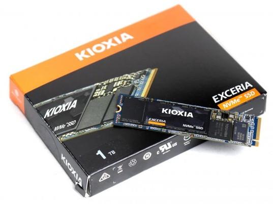 Kioxia Exceria 1TB M2 NVMe SSD