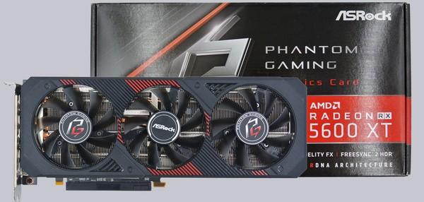 ASRock Radeon RX 5600 XT Phantom Gaming D3 6G OC Graphics Card