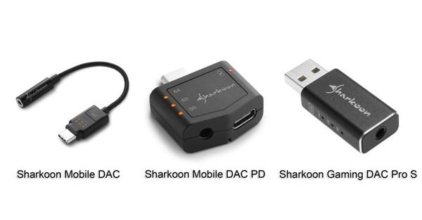 Sharkoon Mobile DAC Mobile DAC PD Gaming DAC Pro S