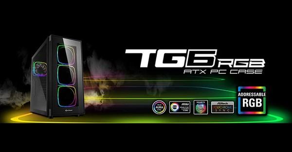Sharkoon TG6 RGB Case