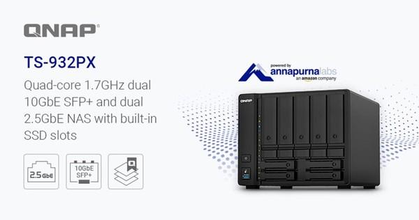 QNAP TS-932PX 10GbE NAS