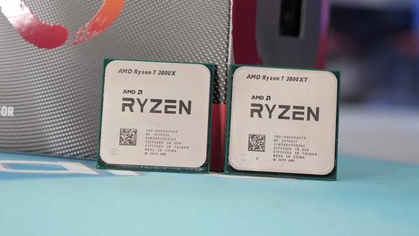 AMD Ryzen 3600XT AMD Ryzen 3800XT AMD Ryzen 3900XT