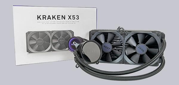 NZXT Kraken X53 Water Cooling