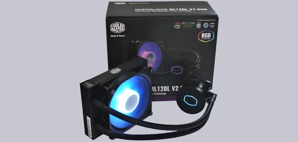 Cooler Master MasterLiquid ML120L V2 RGB Wasserkühler