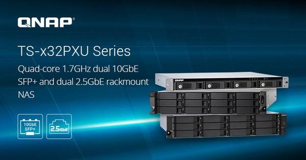 QNAP TS-x32PXU Rackmount NAS