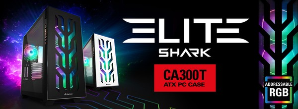 Sharkoon Elite Shark CA300T Gehäuse