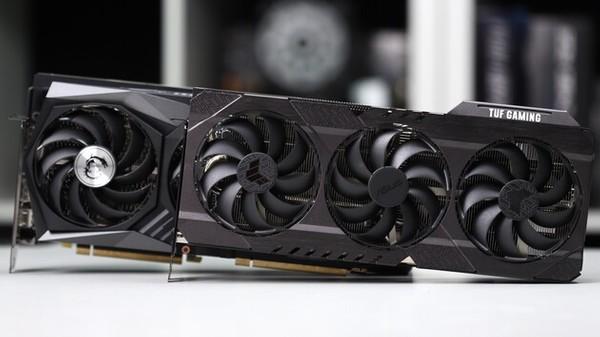 Asus GeForce RTX 3080 TUF und MSI GeForce RTX 3080 Gaming X Trio