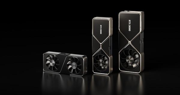 nVidia GeForce RTX 3090 RTX 3080 RTX 3070