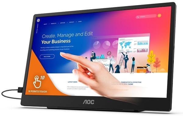 AOC 16T2 Touchscreen Monitor