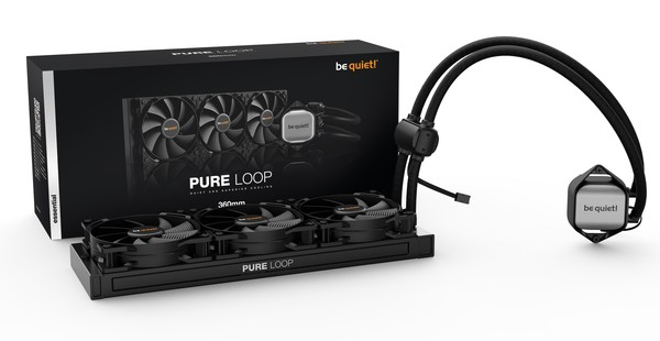 be quiet Pure Loop 120mm 240mm 280mm 360mm AIO