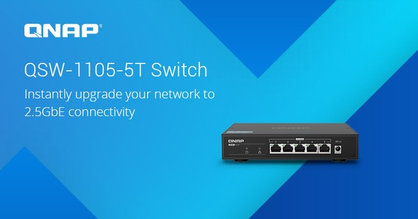 QNAP QSW-1105-5T Switch