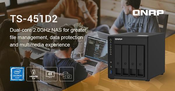 QNAP TS-451D2 Dual-Core NAS