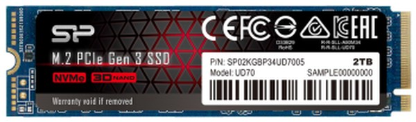 Silicon Power UD70 2TB M2 PCIe SSD
