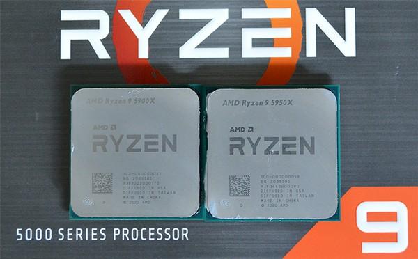 AMD Ryzen 9 5950X and AMD Ryzen 9 5900X