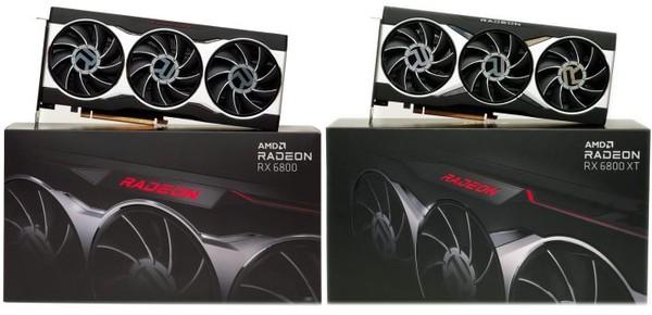 AMD Radeon RX 6800 and AMD RX 6800 XT