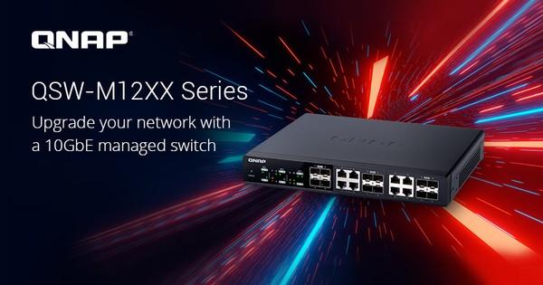 QNAP QSW-M12XX 10GbE L2 Web Managed Switch