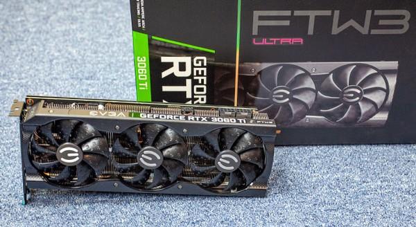 EVGA GeForce RTX 3060 Ti FTW3 Ultra