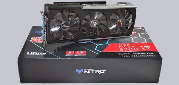Sapphire Nitro Radeon RX 5700 XT 8G SE Grafikkarten