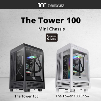 Thermaltake The Tower 100 Mini Chassis