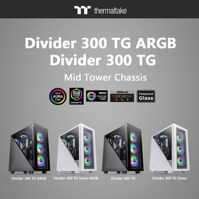 Thermaltake Divider 500 TG Divider 300 TG Divider 200 TG Divider 100TG