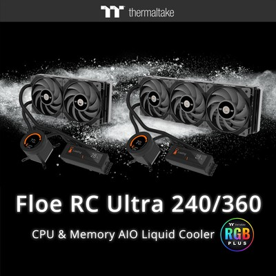 Thermaltake Floe RC Ultra AIO with LCD Screen