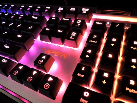 Patriot Viper V765 RGB Mechanical Gaming Keyboard