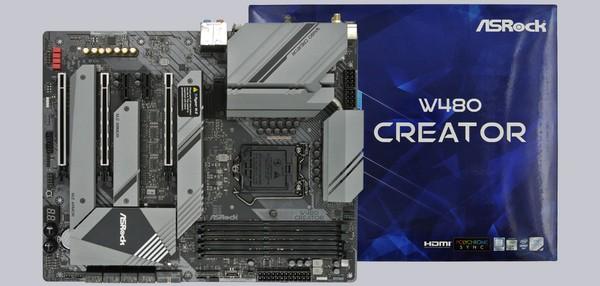 ASRock W480 Creator Intel Mainboard