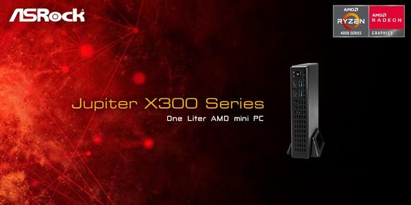 ASRock 1L Jupiter X300 Mini PC