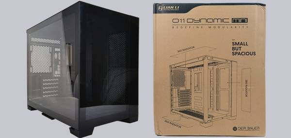 Lian Li O11 Dynamic Mini PC Gehäuse