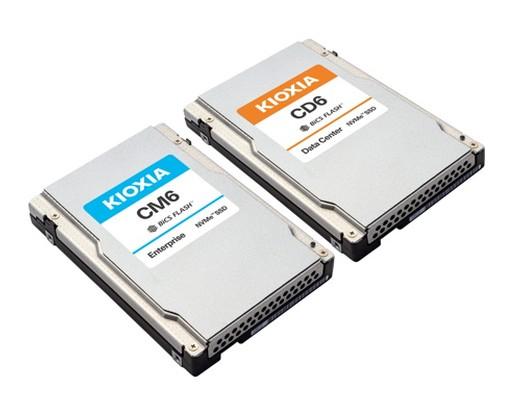 Kioxia CM6 und Kioxia CD6 PCIe 40 NVMe SSD