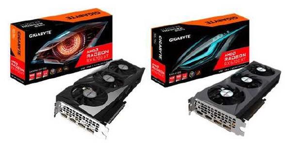 Gigabyte Radeon RX 6700 XT Grafikkarten
